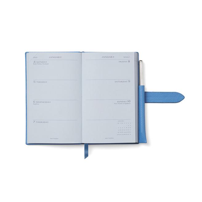 2021 Panama Diary with Gilt Pencil