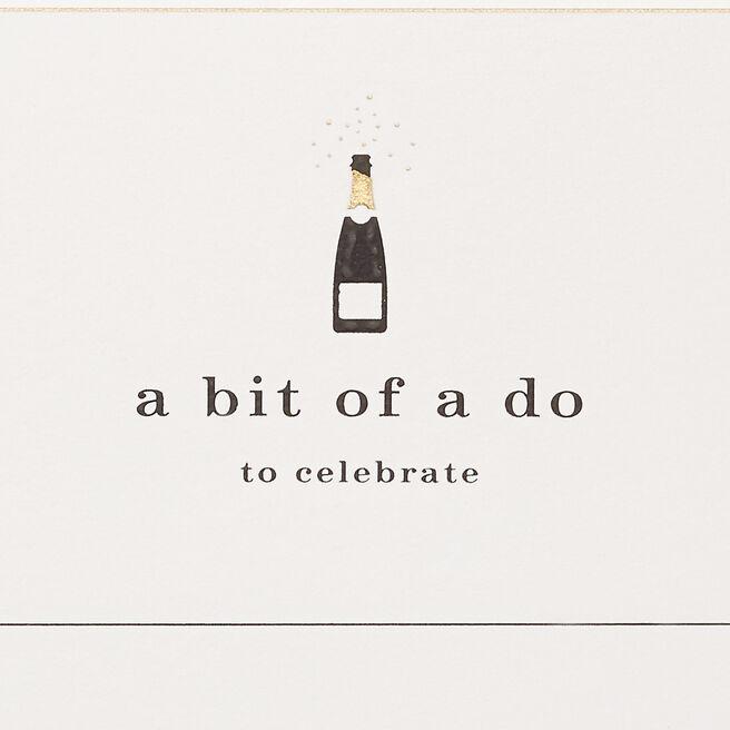 A Bit Of A Do Invitations