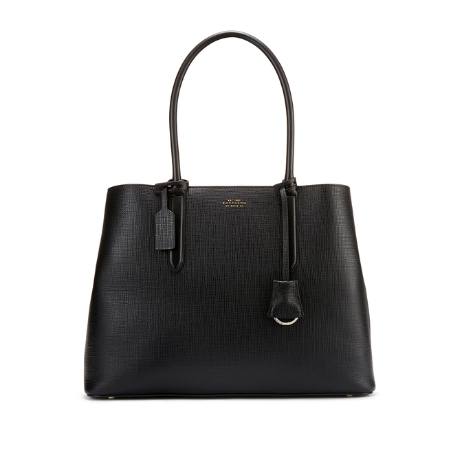 Ciappa Business Bag in Crossgrain Leather