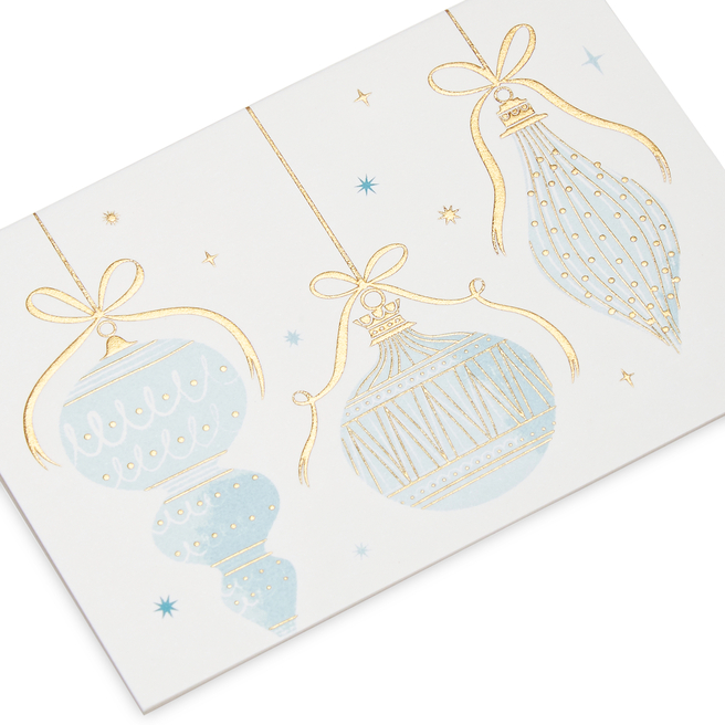 Baubles Christmas Gift Cards