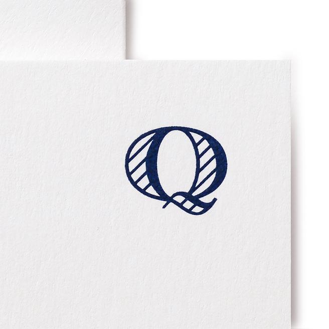 Q Alphabet Cards