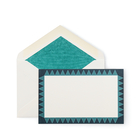 Triangle Bordered Correspondence Cards