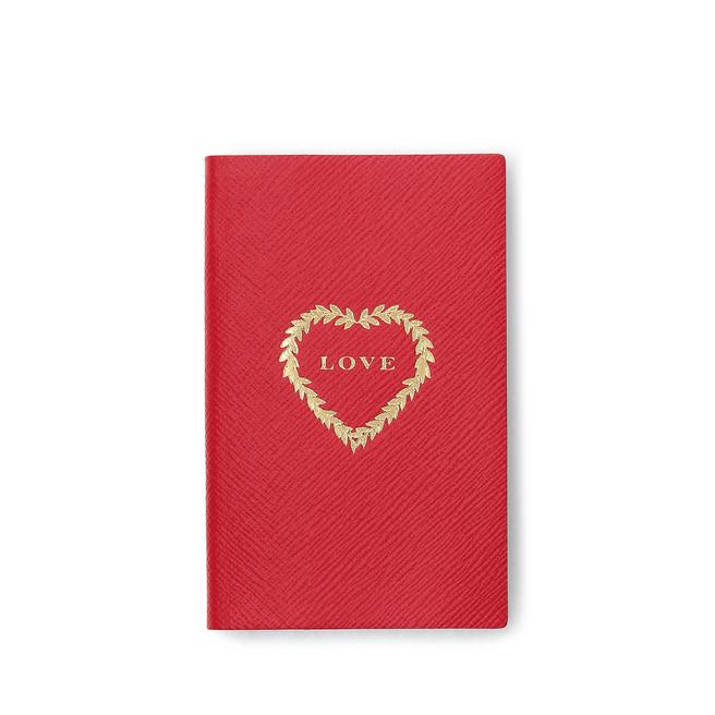 Valentine's Day Love Panama Notebook