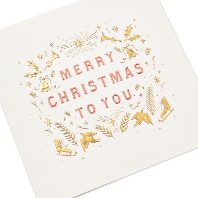 Merry Christmas To You Card