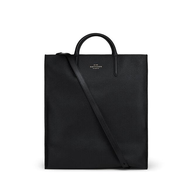 Shopper Bag in Large Grain Leather