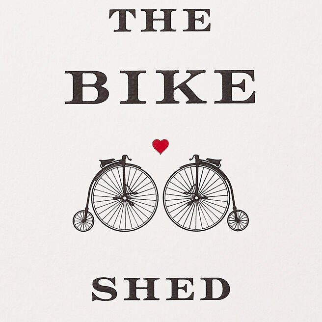 Meet Me Behind The Bike Shed Card
