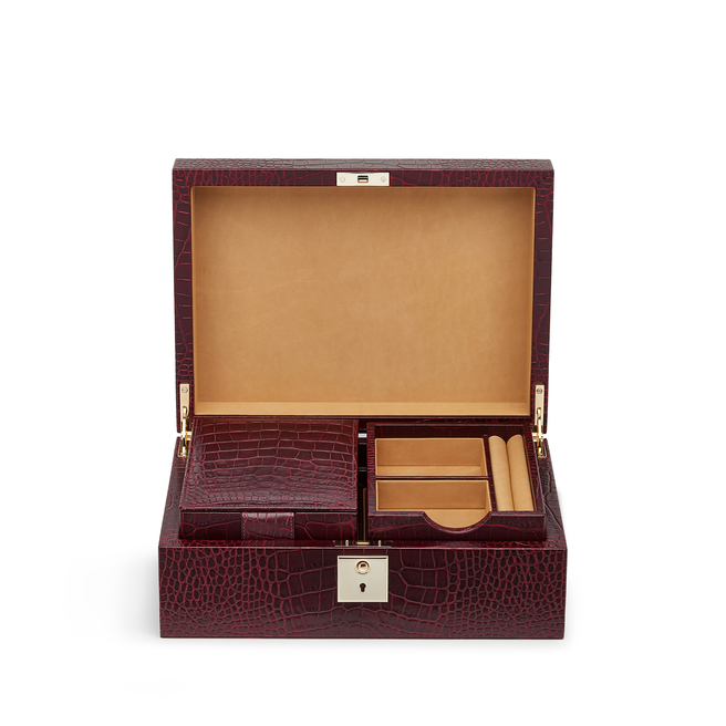 Boîte à bijoux avec plateau de voyage Mara