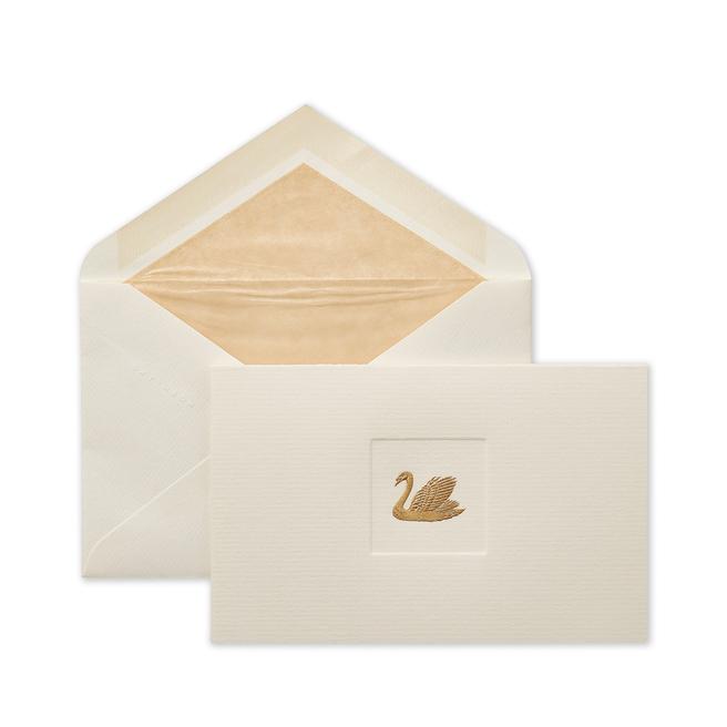 Cartes-lettres Cygne