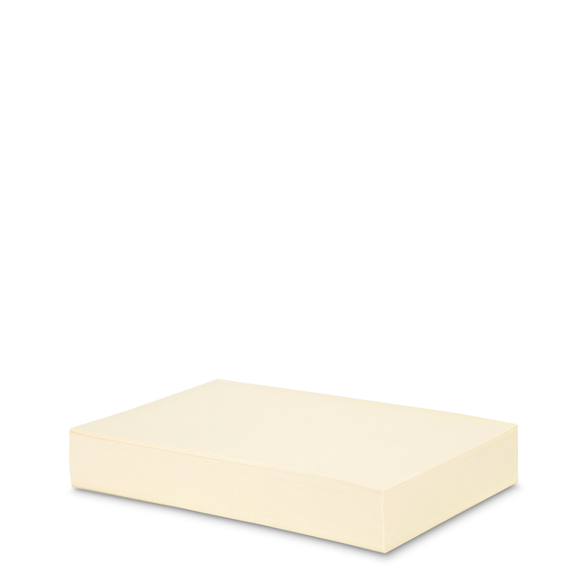 Cream Wove Pocket Memo Refill
