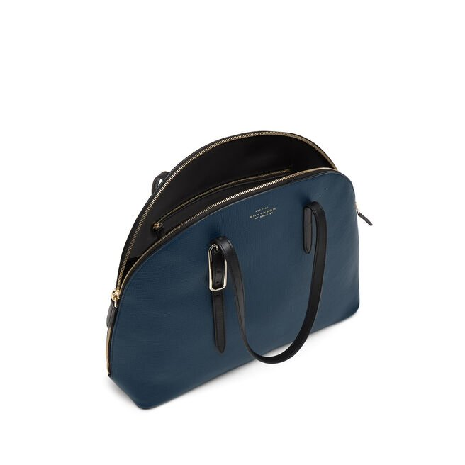 High Moon Shoulder Bag in Crossgrain Leather