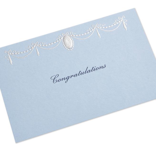 Ribbon Congratulations Card