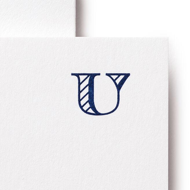 U Alphabet Cards