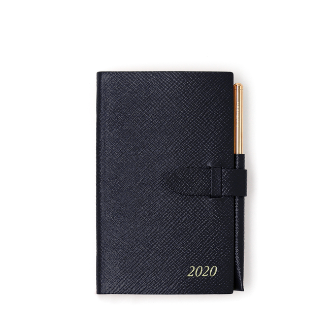 2020 Panama Agenda with Gilt Pencil