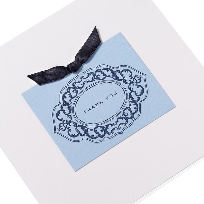 Ribbon Thank You Card