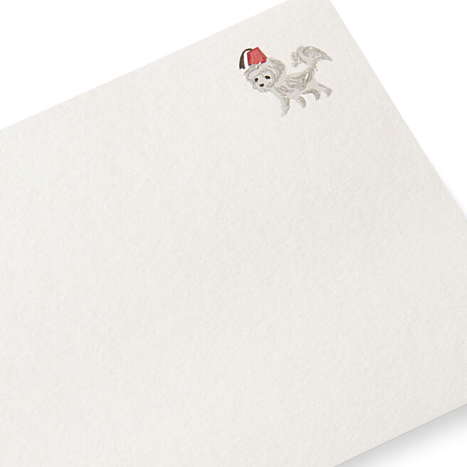 Dog with Fez Correspondence Cards