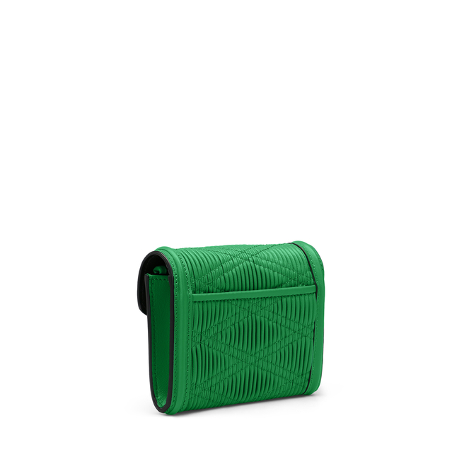 Quilted Plisse Envelope Small Coin Purse