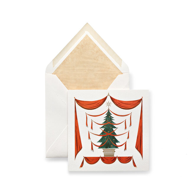 Fir Tree Christmas Cards