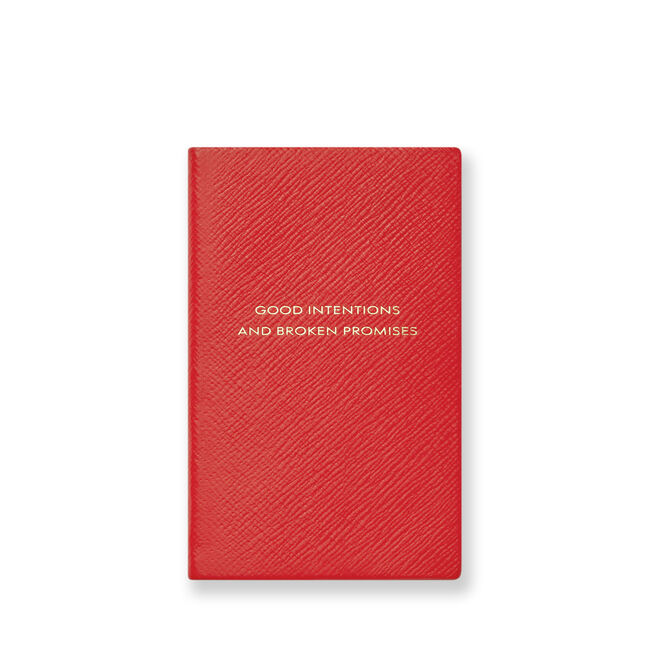 Good Intentions Panama Notebook
