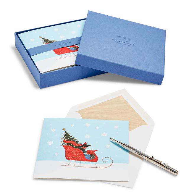 Sleigh Ride Christmas Card Set