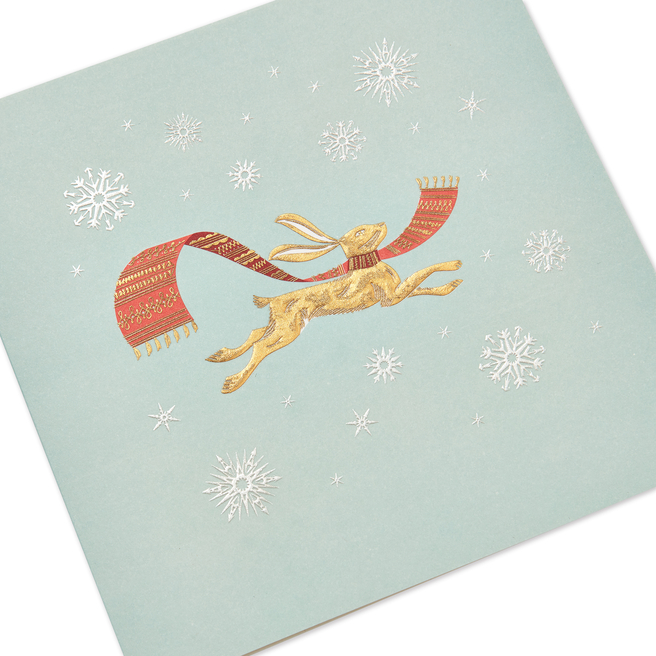 Hare Christmas Cards