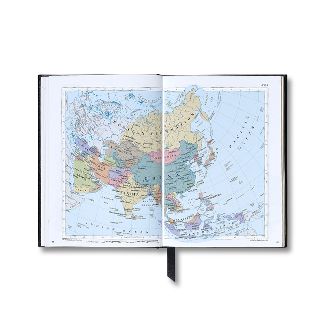 Small Hardbound World Atlas