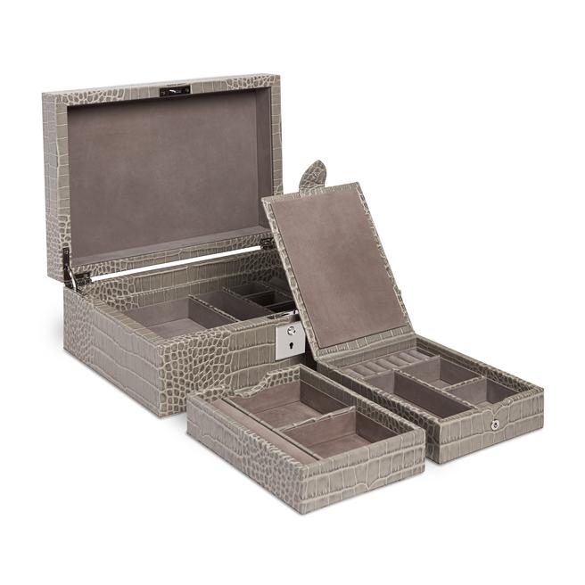 Mara Jeweller Box with Travel Tray