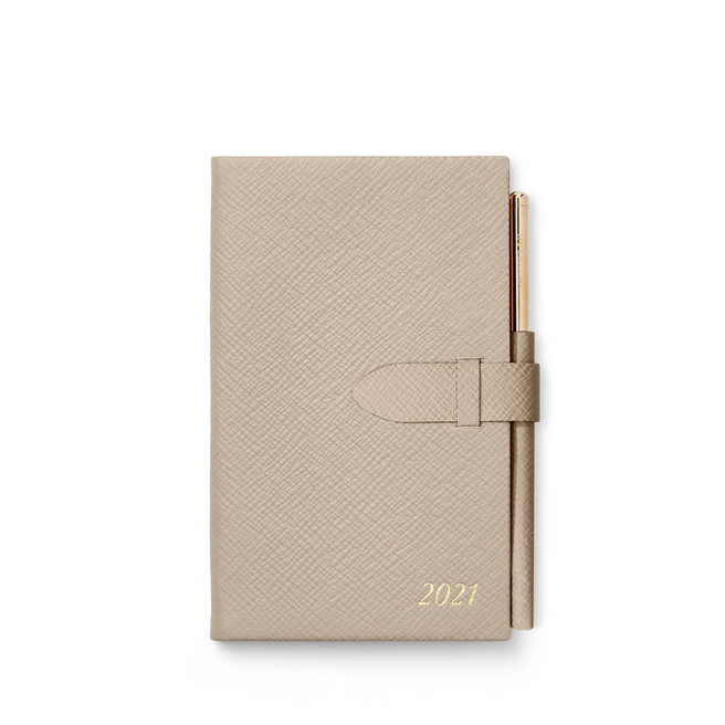 2021 Panama Agenda with Gilt Pencil
