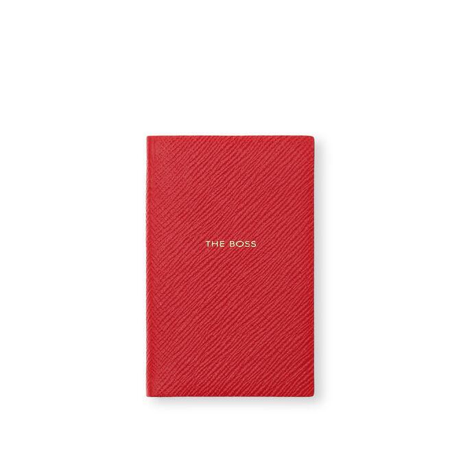 The Boss Wafer Notebook