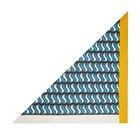 'S' Monogram Small Silk Triangle Scarf