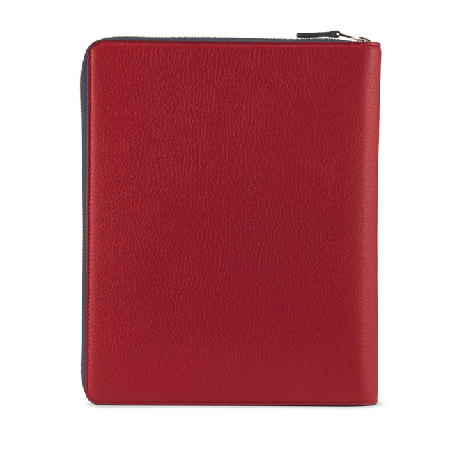 "Burlington 9.7"" Ipad Pro Zip Case Flag Red"