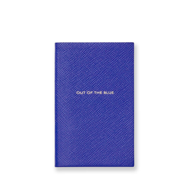 Out Of The Blue Panama Notebook