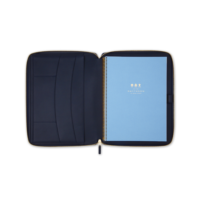 Burlington A4 Zip Writing Folder