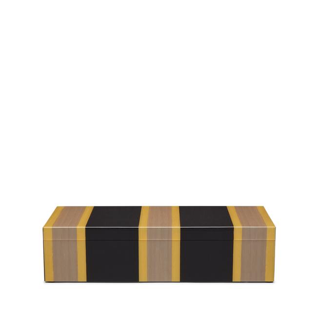 Boîte rectangulaire en marqueterie