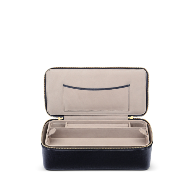 Panama Travel Jewellery Case with Handle