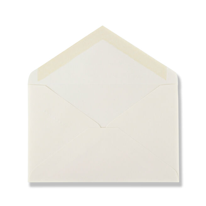 White Laid Kings Envelopes