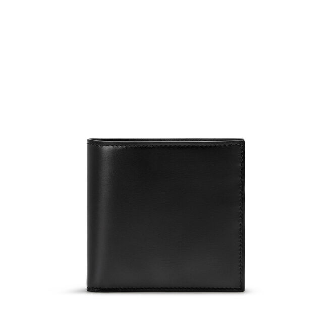 8 Card Wallet in Box Calf Leather