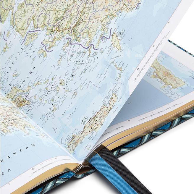 Mara Trellis Large World Atlas