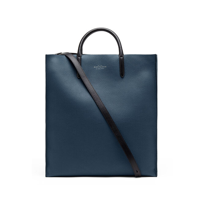 Shopper Bag in Large Grain Leather