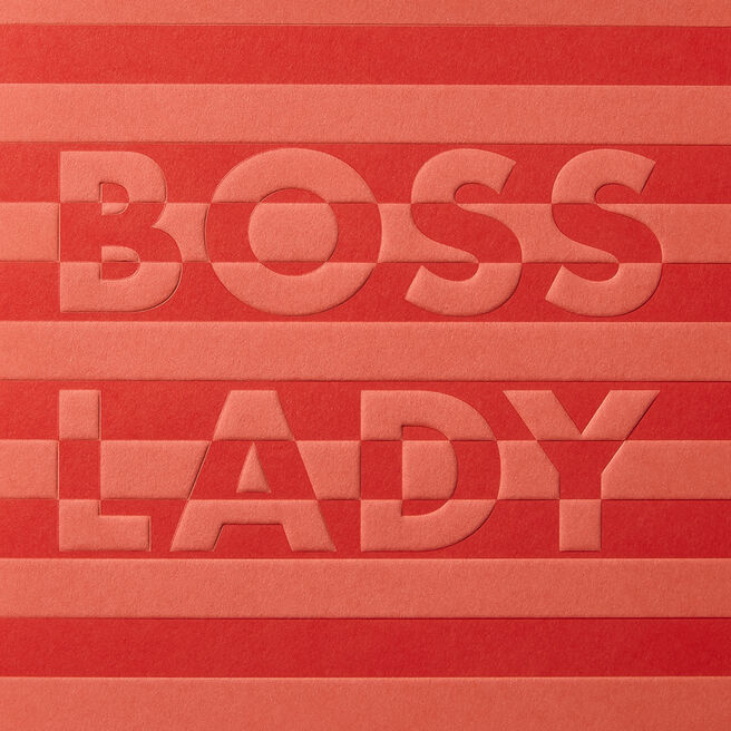 Boss Lady Mother'S Day Card