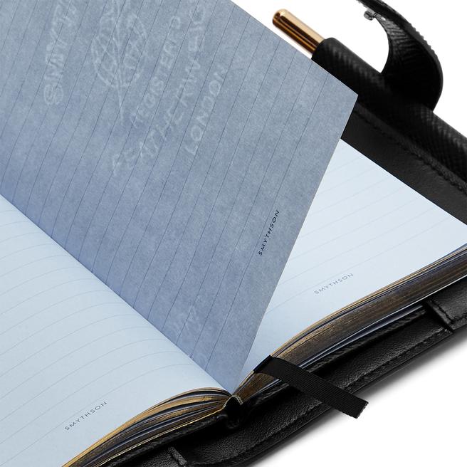 Panama ストラップ付きノートブックオーガナイザー