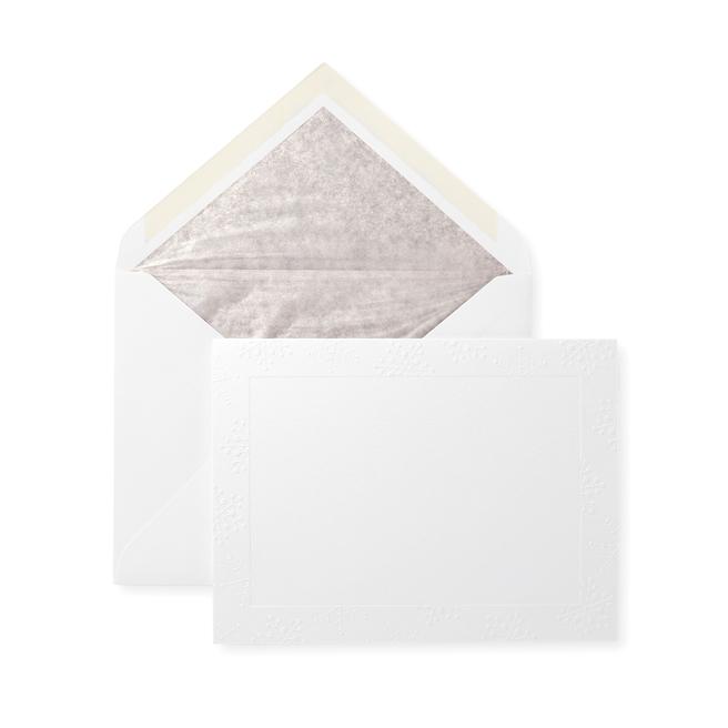Photomount - Snowflakes Christmas Card