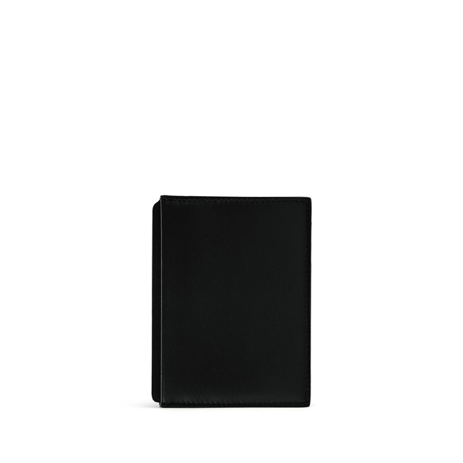 Card and Note Holder in Box Calf Leather