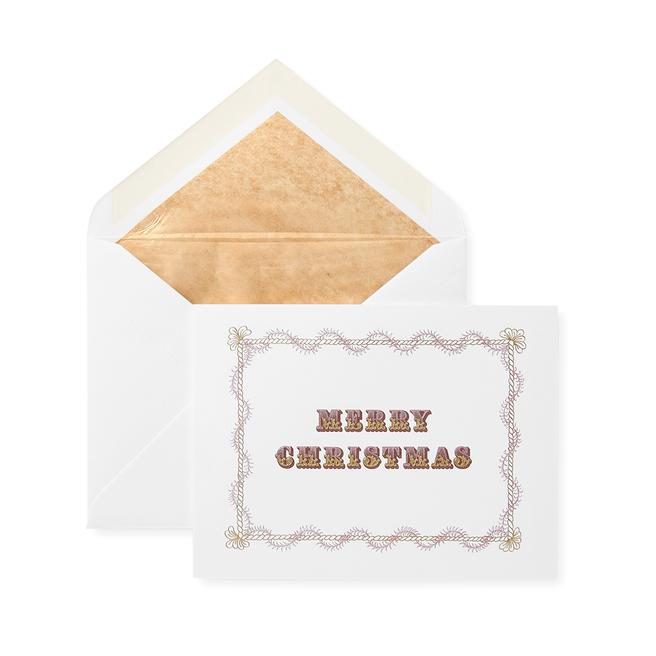 Merry Christmas (Frame) Christmas Card