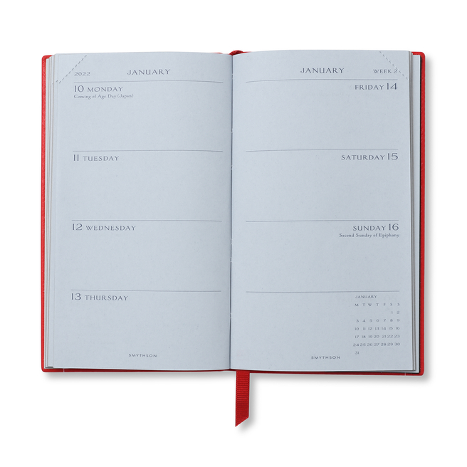2021/22 Mid-Year Panama Diary with Pocket
