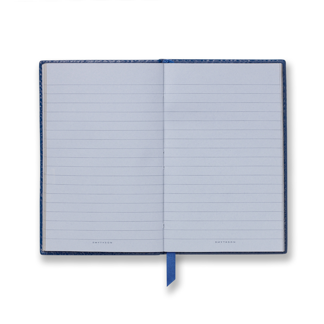 At Sixes And Sevens Wafer Notebook Cobalt