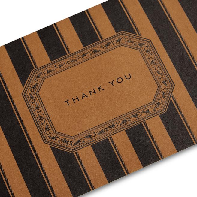 Stripe Thank You Notelets