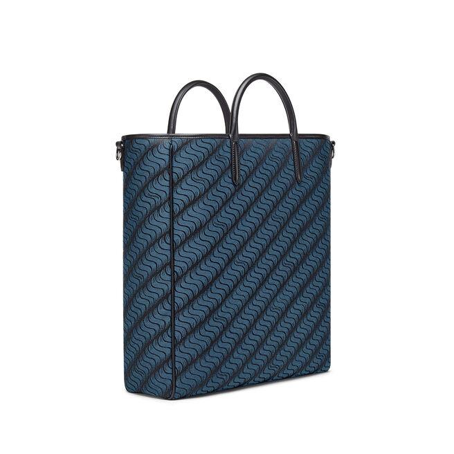 'S' Monogram Shopper Bag