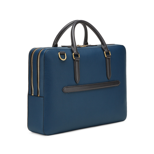 Ludlow Large Briefcase with Zip Front