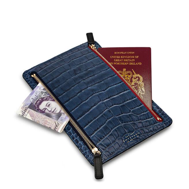 Mara Zip Currency Case