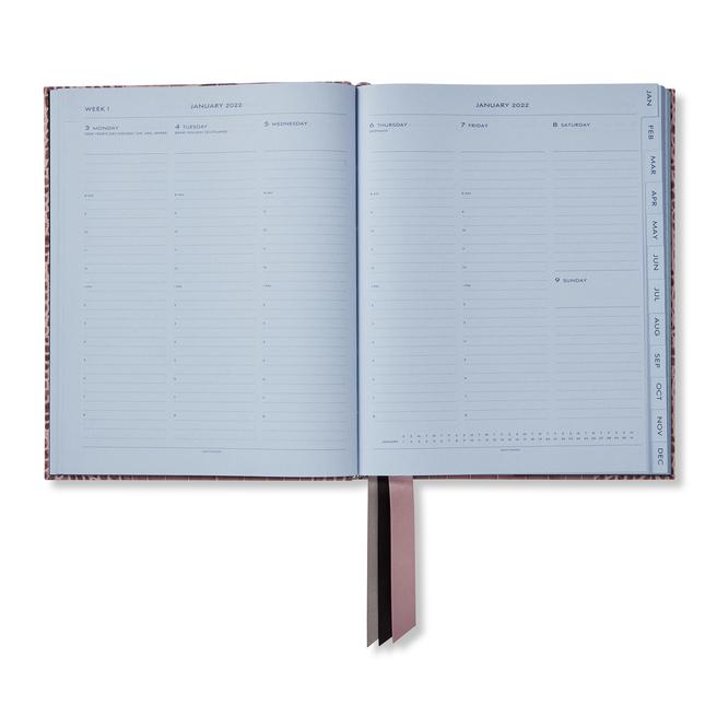 2022 Mara Portobello Diary with Pocket